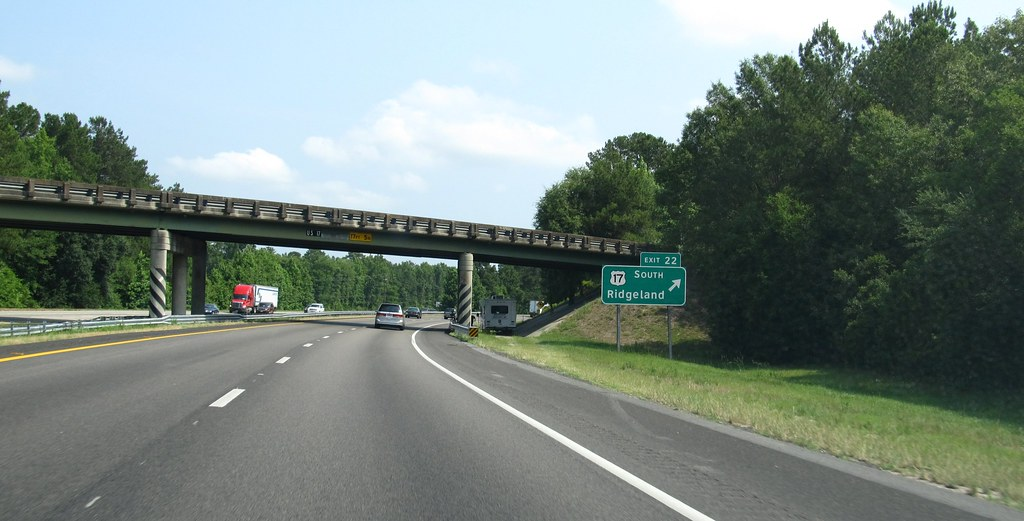 Exit 22, U.S. 17 South...I 95 Sc