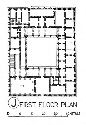 Palazzo farnese plan title palazzo farnese other title for Palazzo floor plan
