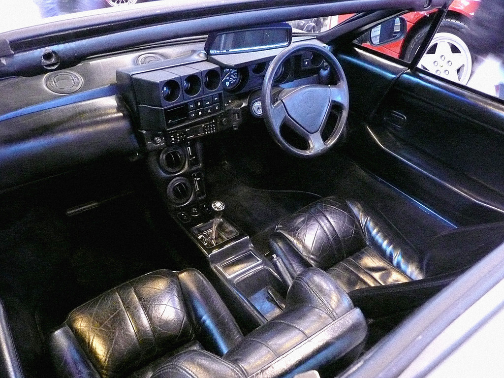 Lamborghini Jalpa Interior Lamborghini Jalpa Interior