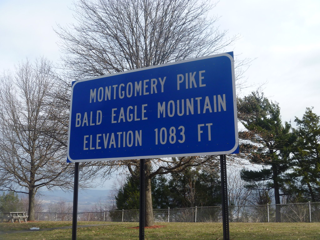 Bald Eagle Mountain Just South Of Williamsport And