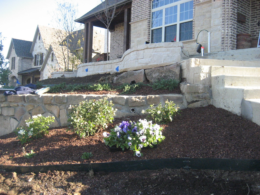 Landscape Designs Retainer Walls Dallas Www