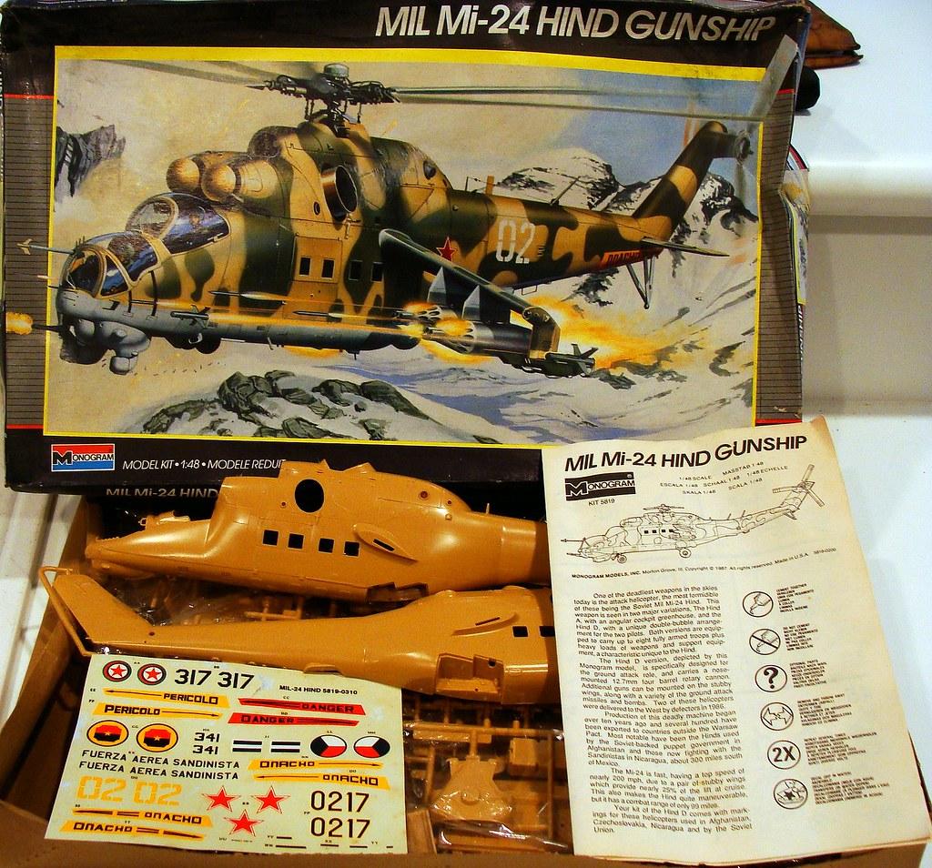 monogram 1987 kit no 5819 1  48 mil mi