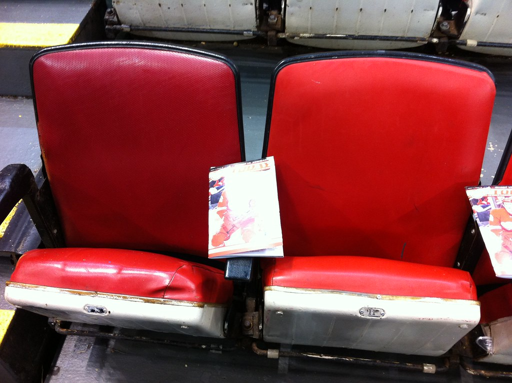 Joe Louis Arena Seating Section 120 Row 1 Seats 1 And