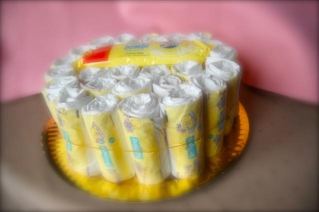 Make Diaper Cakes Animals