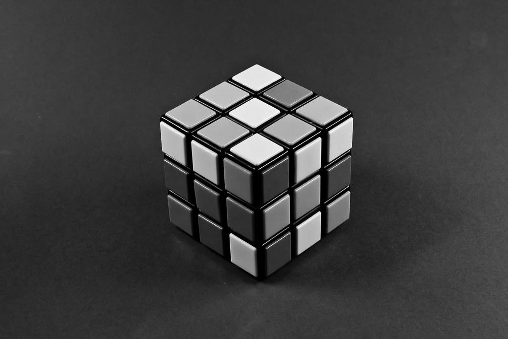 BW Rubik's Cube | That...