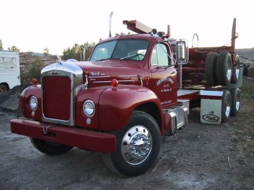 Vintage Mack Truck 51