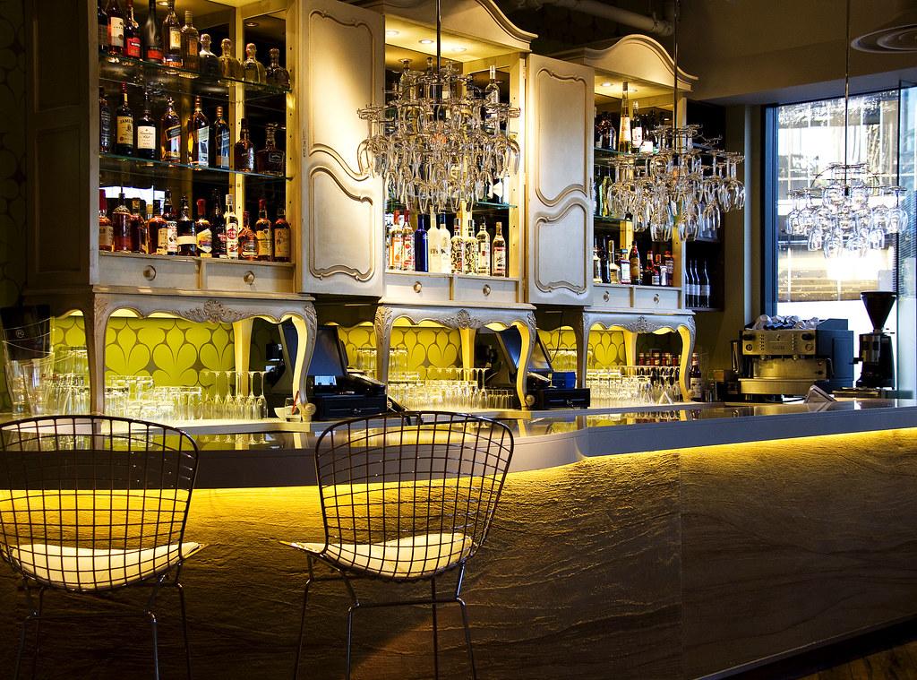 Restaurant bar design awards rocket london fu