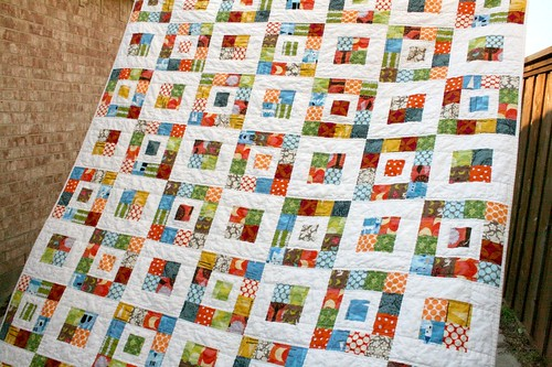 Royal Squares Quilt | by QuiltsByEmily