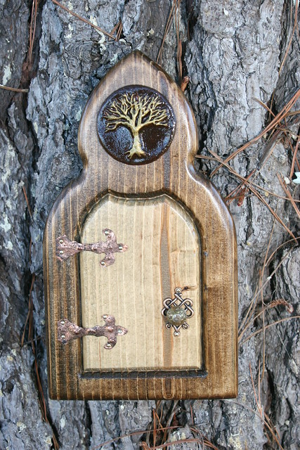 Tree of life faerie door flickr photo sharing for The faerie door