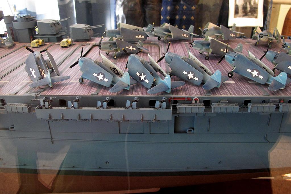uss yorktown cv10 model flight deck