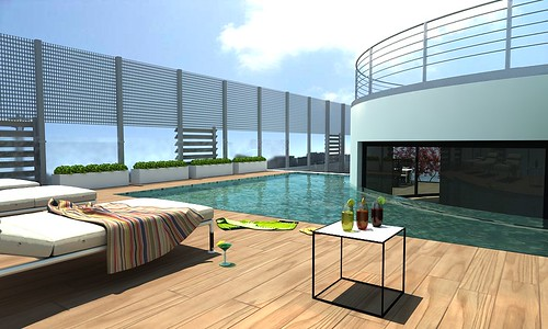 Terrazzo attico piscina flickr photo sharing - Piscina terrazzo ...