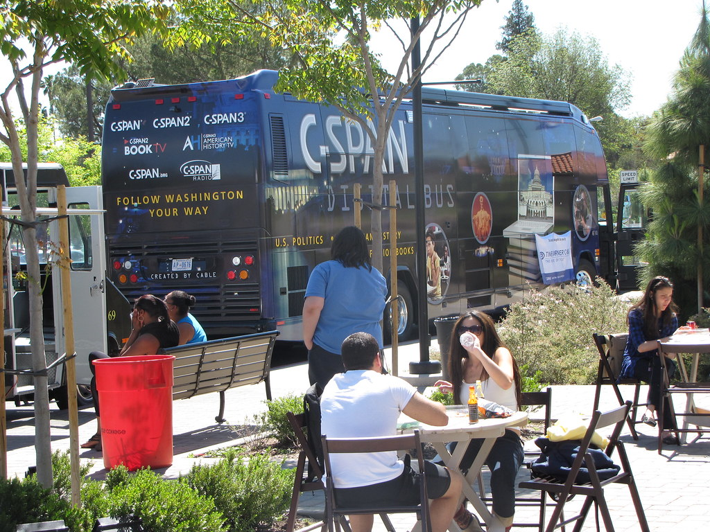 Lunch time at Pierce College | The bus was parked next to ...