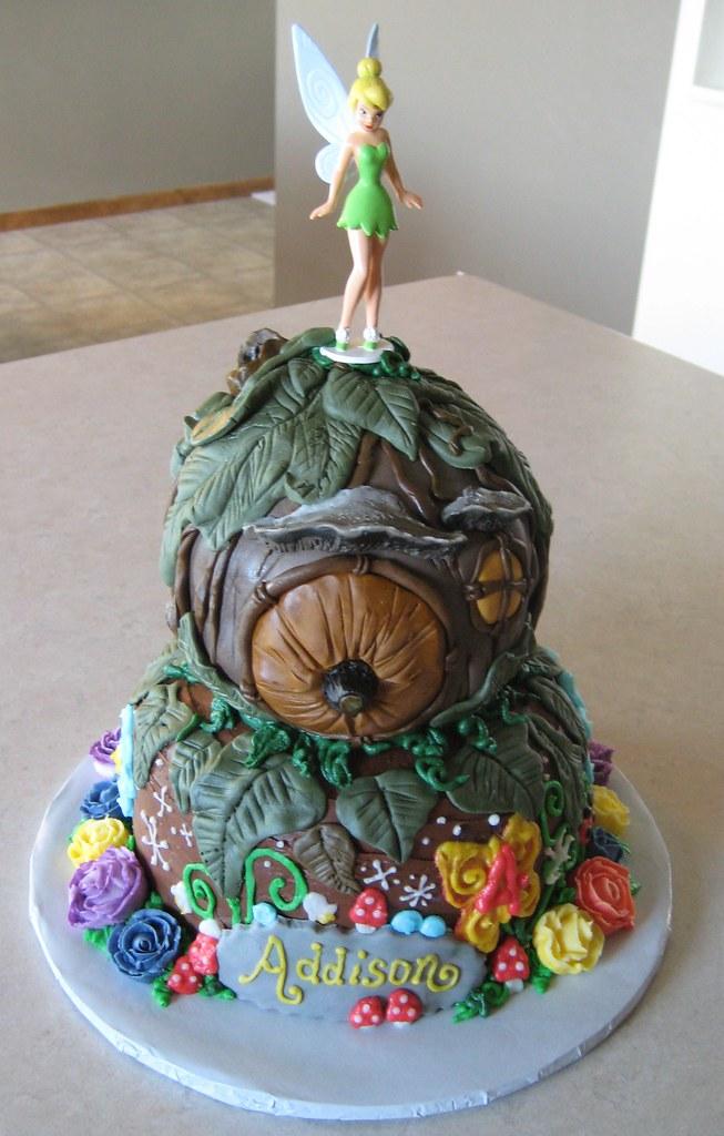 Tinkerbell Cake Custom Cakes by Julie Flickr