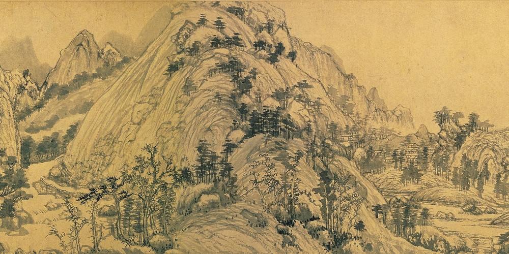 chinese art mountains - photo #33