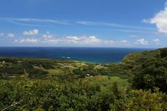 Town of wailua road to hana maui hawaiian islands