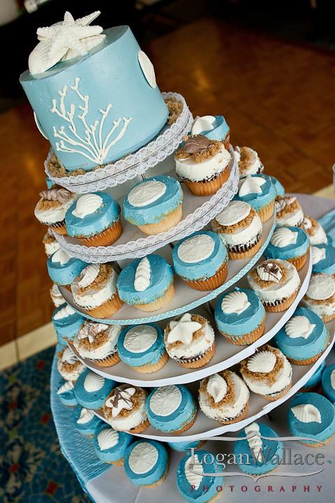 beach wedding cupcake carolina cakes amp confections flickr