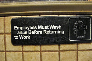 employees must wash their... | by David Lebovitz