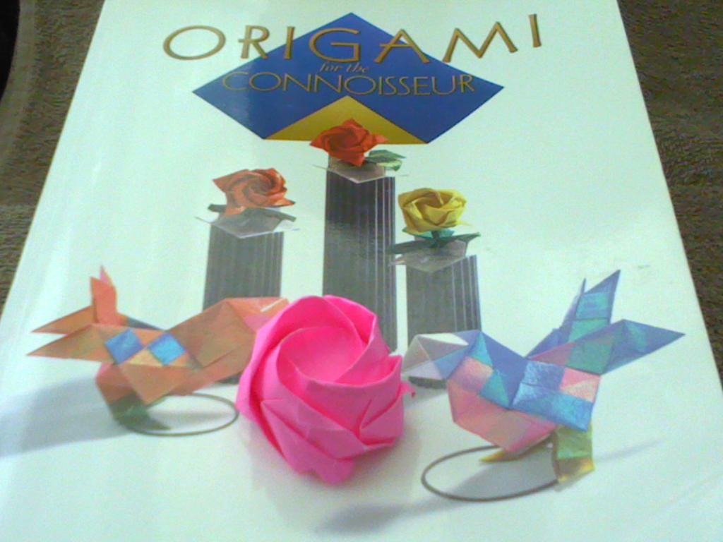 The Coffee House Origami Fairy: Toshikazu Kawasaki - Rose ... - photo#35