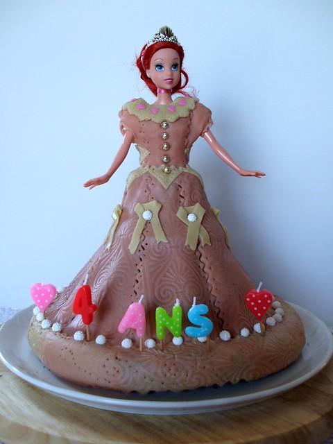 G Teau Princesse Pour Anniversaire G Teau Pour Les 4 Ans D Flickr Photo Sharing
