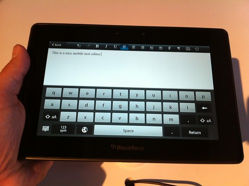 Word on BlackBerry PlayBook | by jasonhiner
