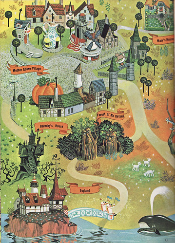 Map of Fantasyland | by Calsidyrose