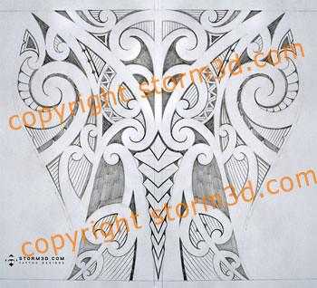 lower leg maori tattoo calf mark storm flickr. Black Bedroom Furniture Sets. Home Design Ideas