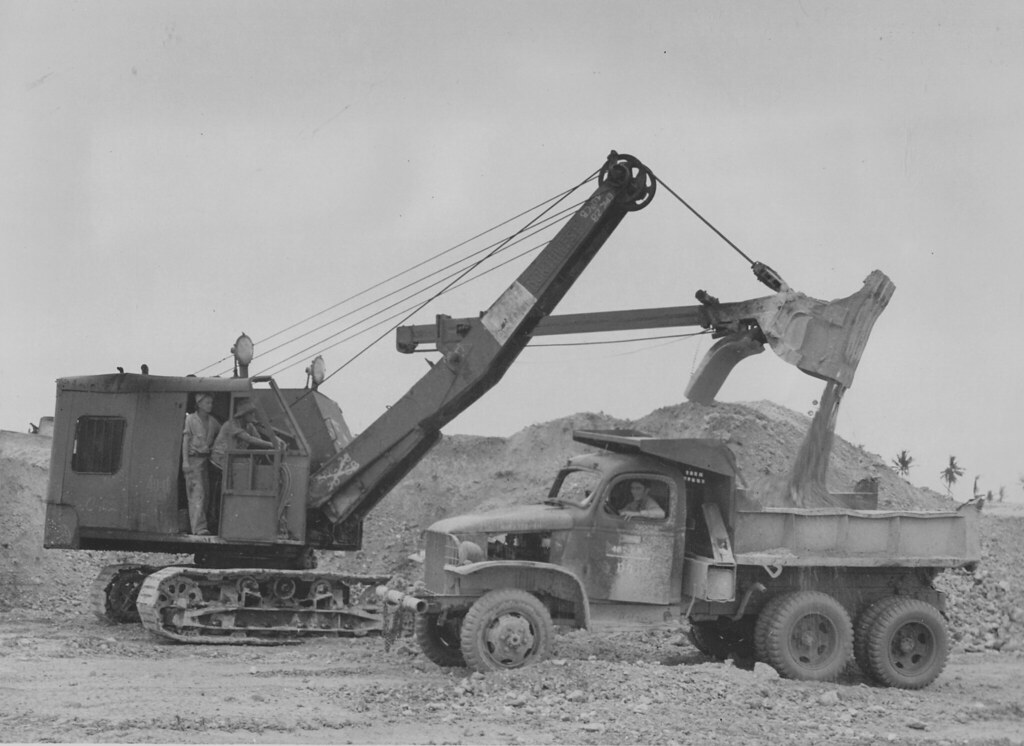 1 5 Yd Northwest Shovel Creator 58th Naval Construction