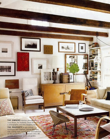 Nan Whitney {rustic vintage modern living room} | Flickr - Photo ...