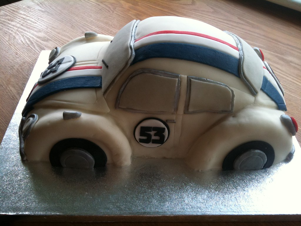 Herbie Birthday Cake