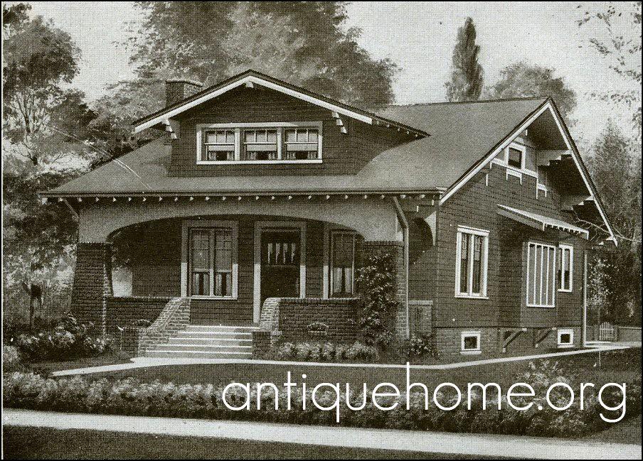 Harris Kit Homes Bungalow 1920 Harris Brothers Kit House