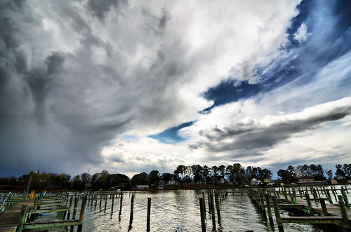 Storm on Chesapeake Bay | by Captjn