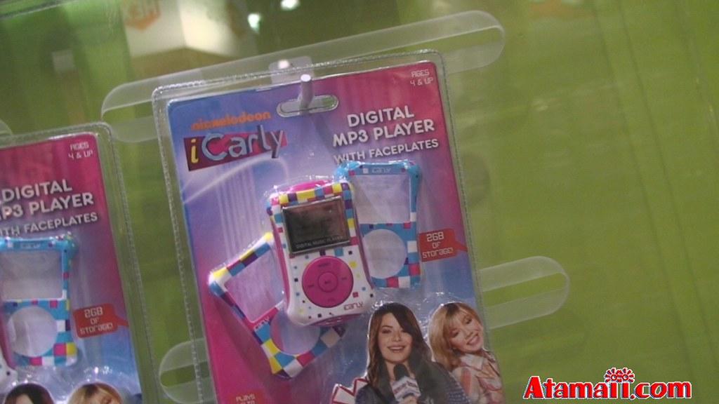 icarly karaoke machine