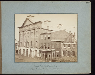 Ford's Theatre, Washington, (Where President Lincoln was Assassinated) | by George Eastman House