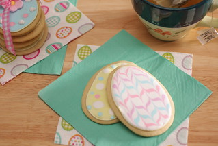 easter egg sugar cookies with royal icing | by Madison Bistro