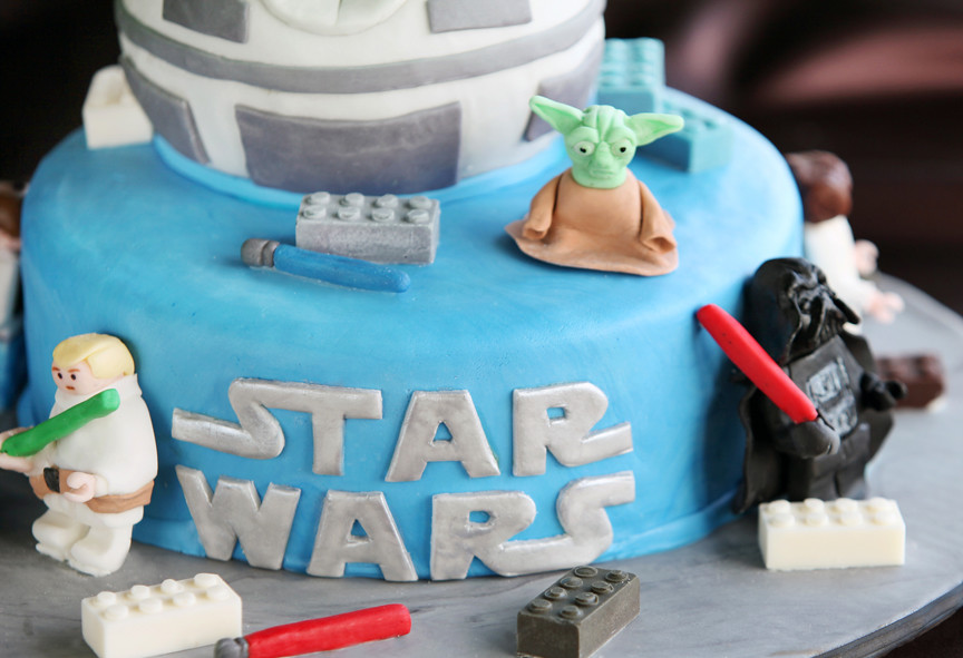 Star Wars Lego Cake Star Wars Lego Cake For An 11 Year