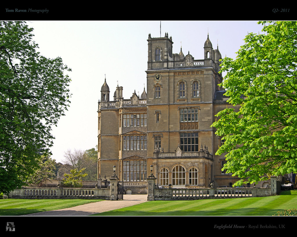 Bucklebury Middleton House Englefield House Just Down The Road From Kate Middleton