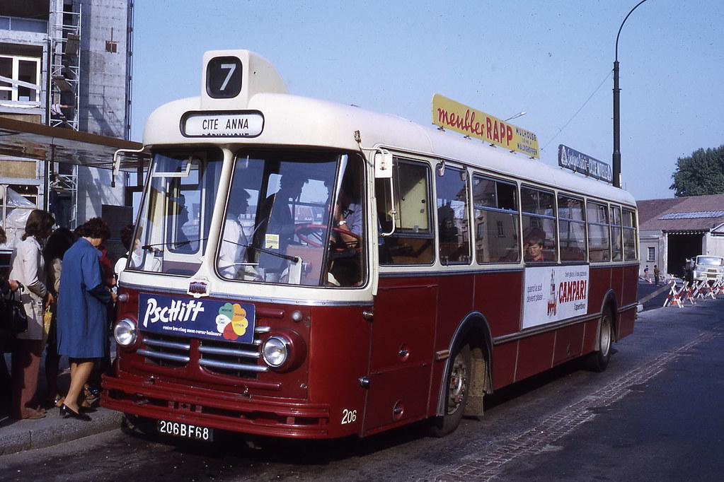 jhm 1971 1094 mulhouse autobus floirat jean henri manara flickr. Black Bedroom Furniture Sets. Home Design Ideas