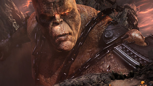 "God of War III: ""Cronos Battle"" 