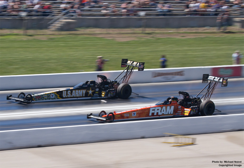 """If there was ever anyone who personified a sponsor, it is NHRA Top Fuel dragster champion Tony Schumacher. He looks like a U.S. Army soldier, complete with a buzz cut, hence his nickname """"The."""