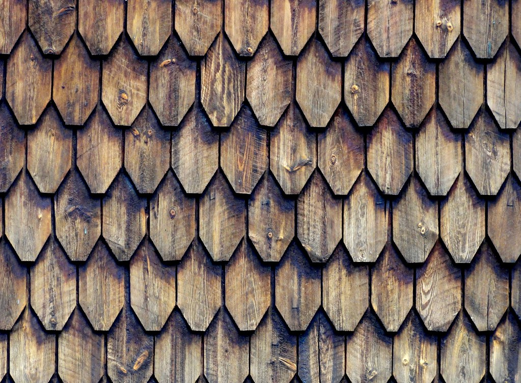 Wood Shingles Texture Wood Shingles Cladding