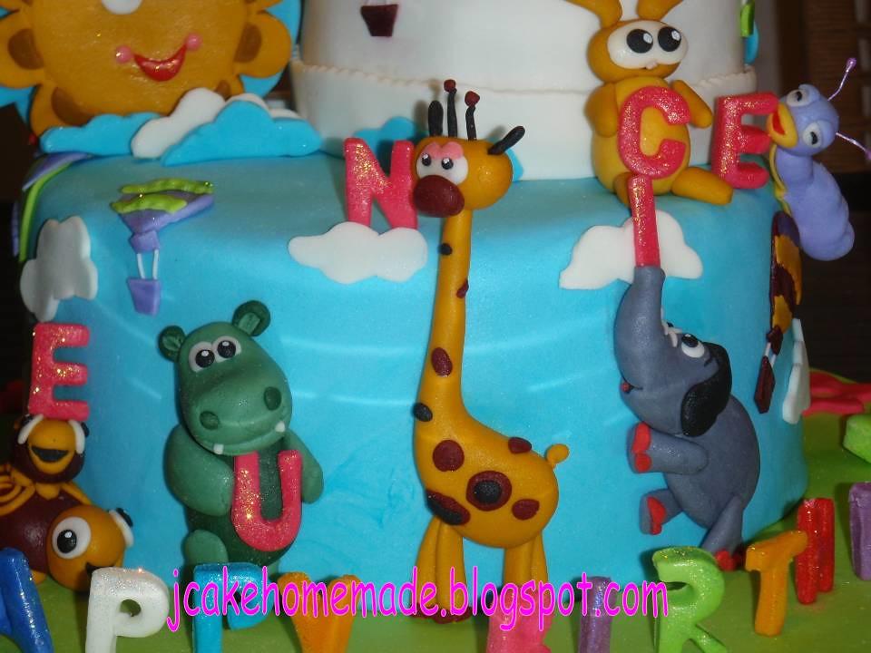 Baby Tv Theme Birthday Cake Happy 1st Birthday Eunice