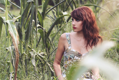 Chelsey in the Corn | by Tim Pethel