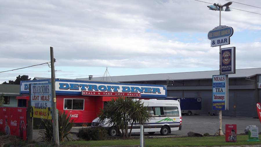 Detroit Diner, Oamaru, New Zealand