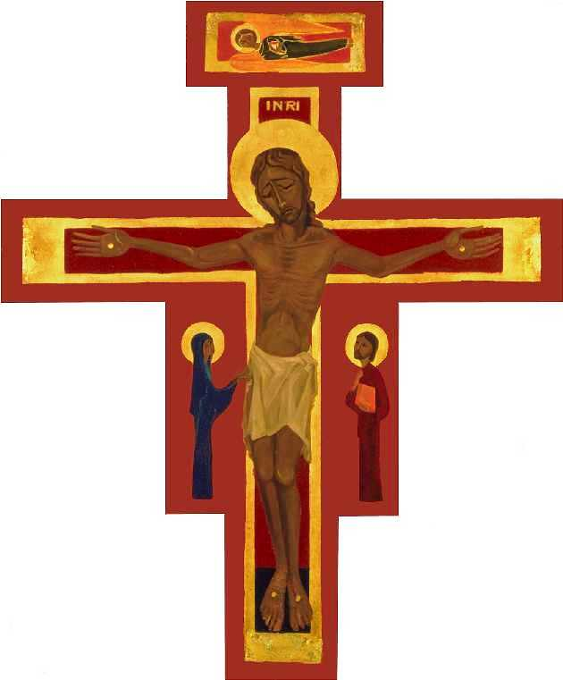 Icon Of The Cross From The Church Of Reconciliation Taiz 233
