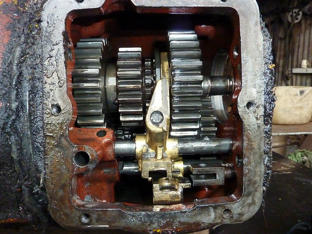 Inside the gearbox of a Benford MA2000 forklift truck   Flickr