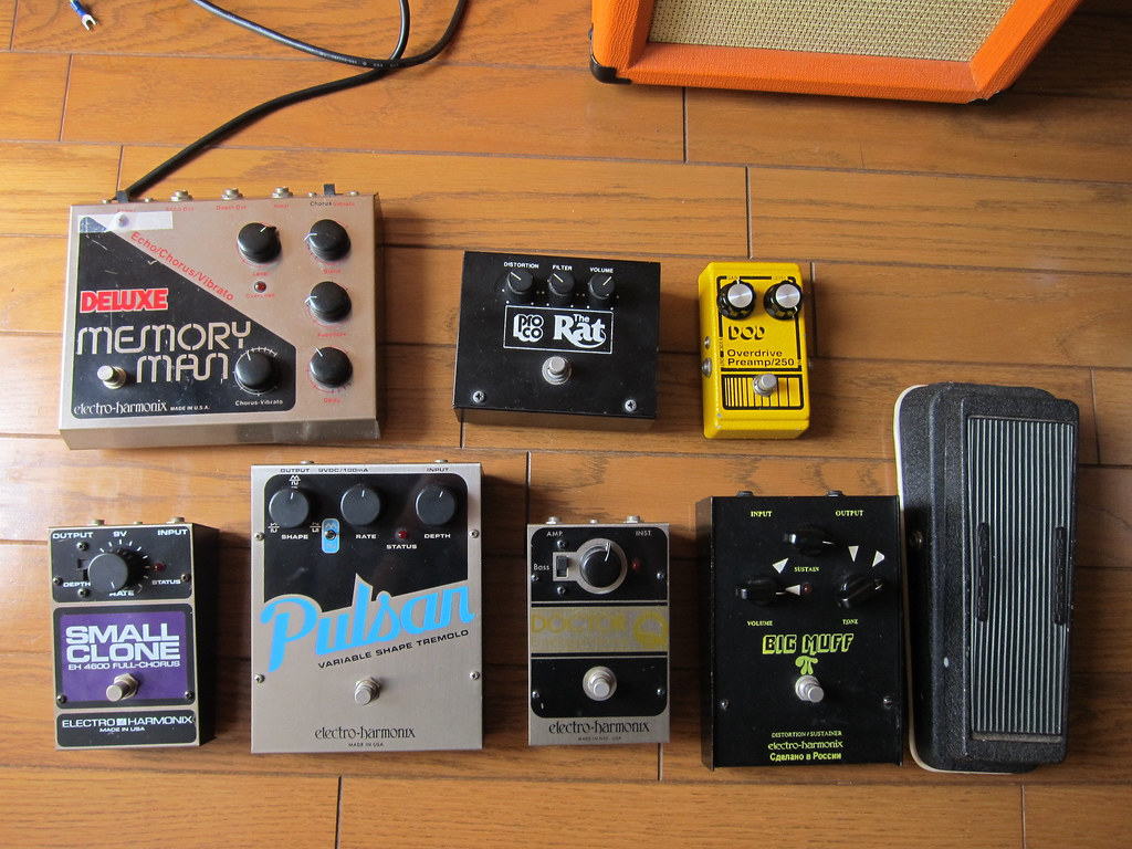my pedals electro harmonix deluxe memory man analog delay flickr. Black Bedroom Furniture Sets. Home Design Ideas