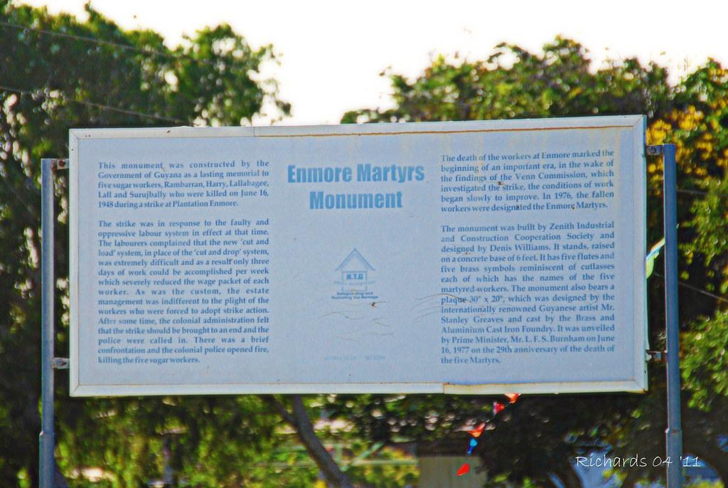 Enmore Martyrs Monument Signboard Amanda Richards Flickr
