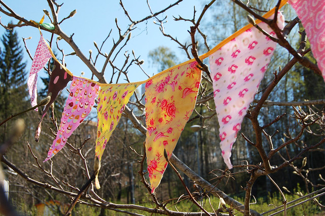 Bunting flags makes me happy