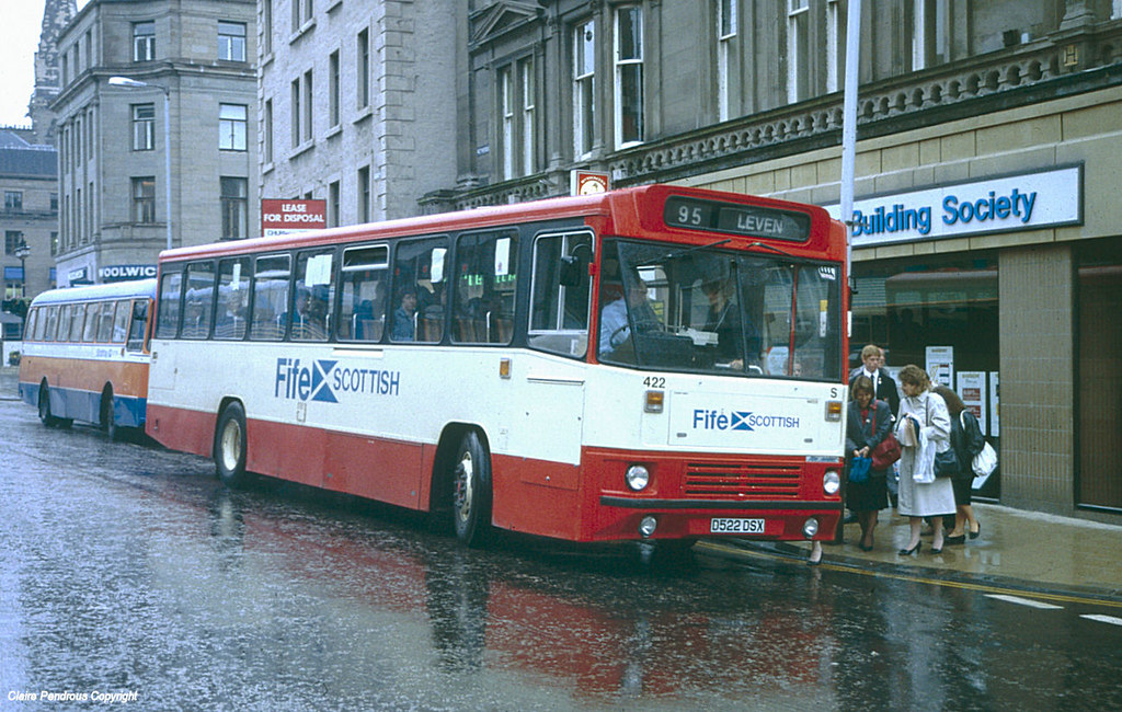 Fife Scottish 422, Dundee, 1989 | Another image from my all … | Flickr
