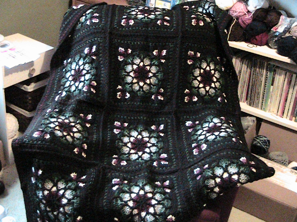 Dorable Stained Glass Crochet Afghan Pattern Pattern - Easy Scarf ...